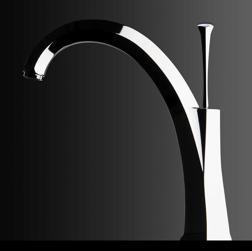 An image of Chambord Adele Kitchen Tap Chrome