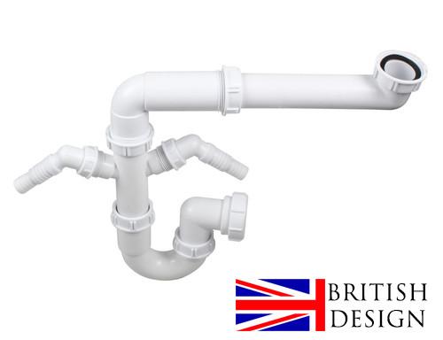 An image of British Precision Plumbing Single Bowl Plumbing Kit