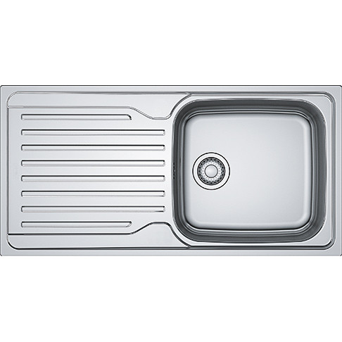 An image of Franke Antea AZN 611-100 Stainless Steel Kitchen Sink