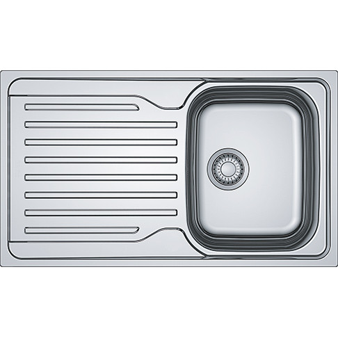 An image of Franke Antea AZN 611-86 Stainless Steel Kitchen Sink