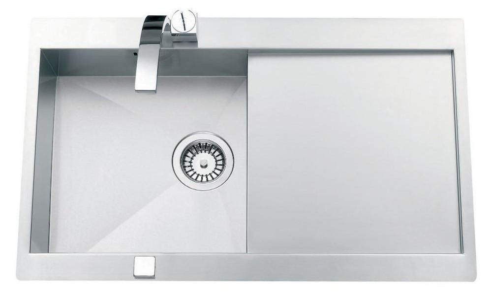 An image of Luisina Adagio Plus  EV5601E-IL Single Bowl Kitchen Sink With Drainer