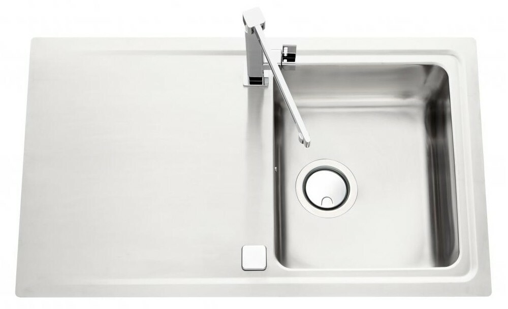 An image of Luisina Fagotto EV5801-IL Single Bowl Kitchen Sink With Drainer