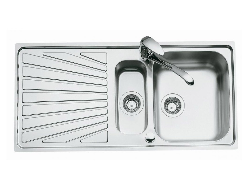 An image of Luisina Verdi EV5411-IL One + Half  Bowl Kitchen Sink With Drainer