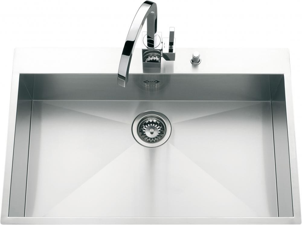 An image of Luisina Monteverdi EV32IL Single Bowl Kitchen Sink