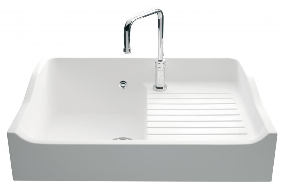 An image of Luisina Concept EV159-006 Single Bowl Kitchen Sink