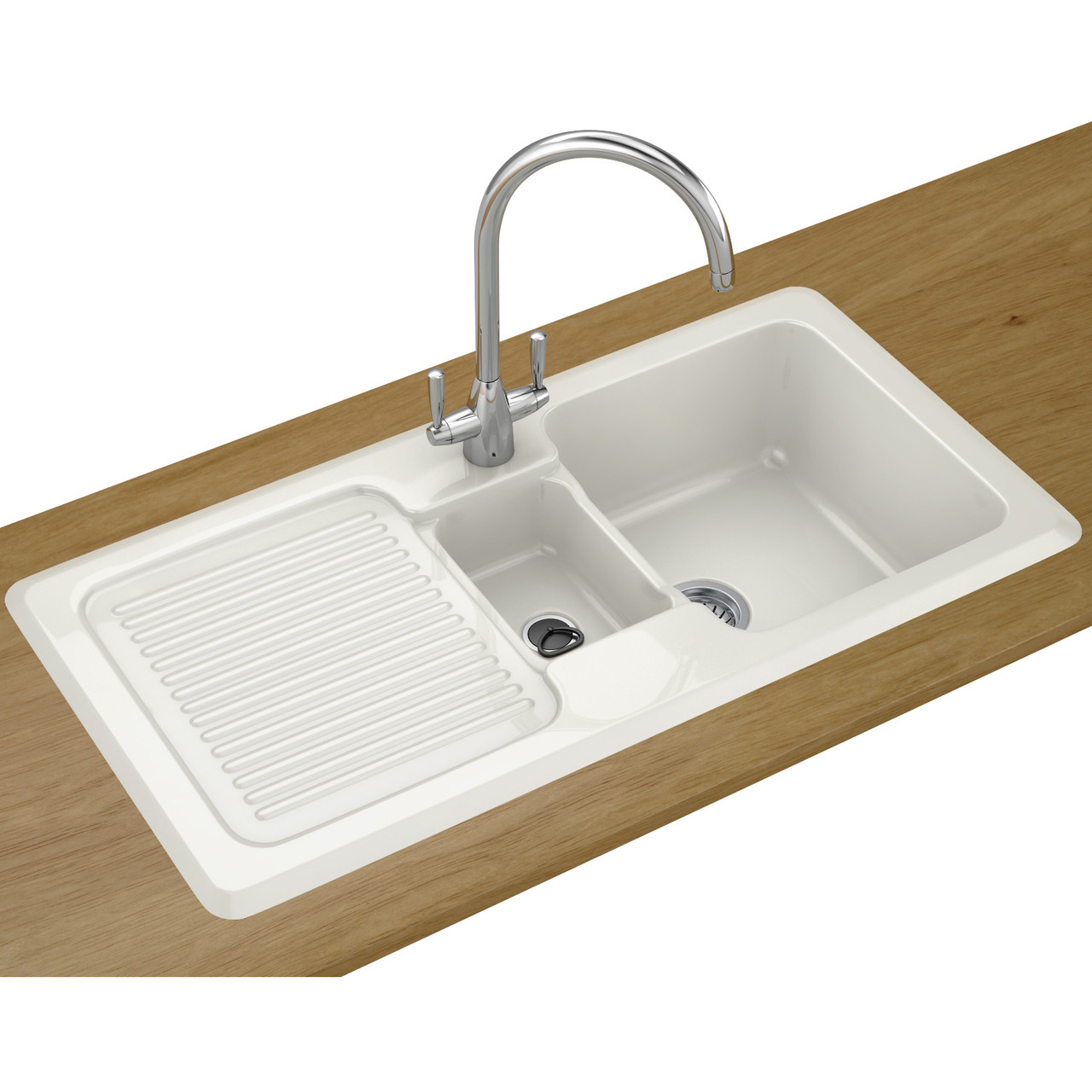An image of Franke VBK651 Ceramic Kitchen Sink