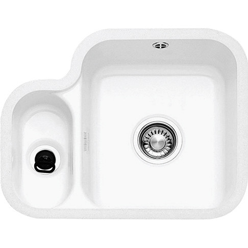 An image of Franke VBK160 Ceramic White Kitchen Sink