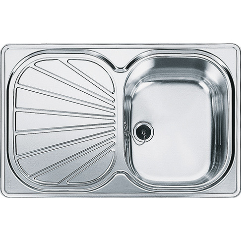 An image of Franke Erica EUX611 78 Stainless Steel Kitchen Sink