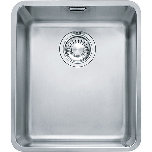 An image of Franke Kubus KBX110 34 Stainless Steel Kitchen Sink