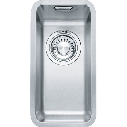An image of Franke Kubus KBX110 16 Stainless Steel Kitchen Sink