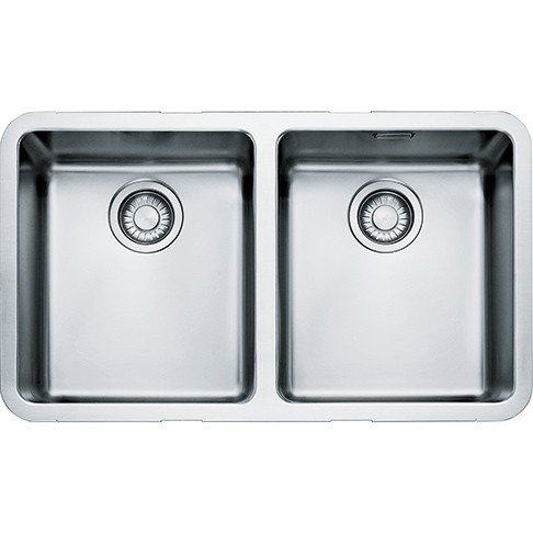 An image of Franke Kubus KBX120 34-34 Stainless Steel Kitchen Sink