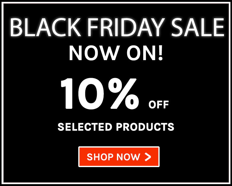 Black Friday Sale | 10% off on selected products!